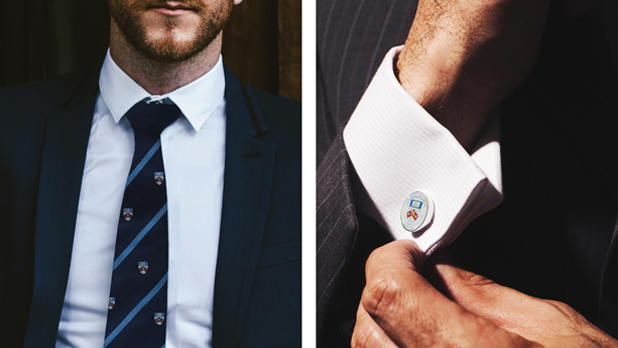 UNSW branded ties & cufflinks